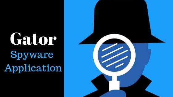 Gator: Spyware Application